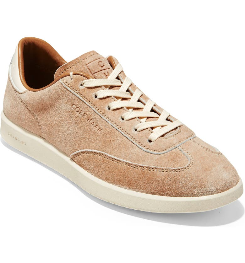 COLE HAAN GrandPro Sneaker, Main, color, ROSE LEATHER/ SUEDE