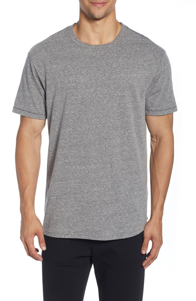 UGG<SUP>®</SUP> Henrie Tri-Blend Crewneck T-Shirt, Main, color, GREY
