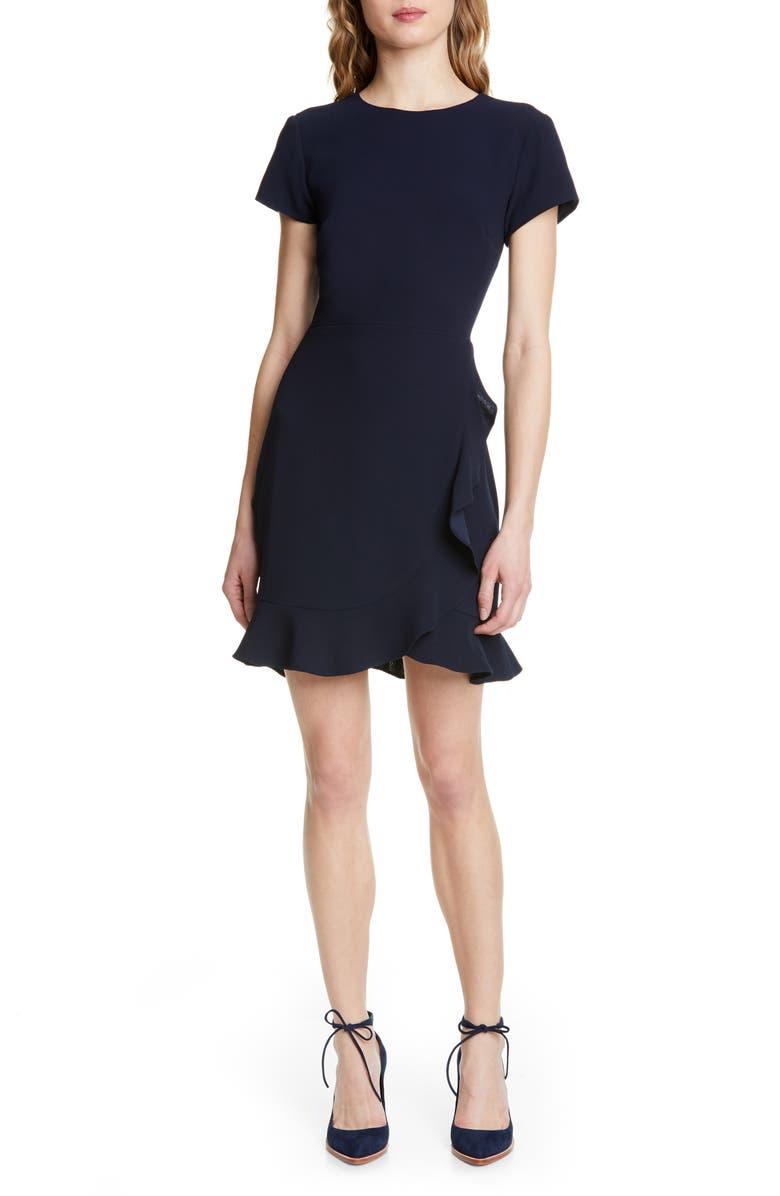 Larna Ruffle Sheath Dress by Club Monaco