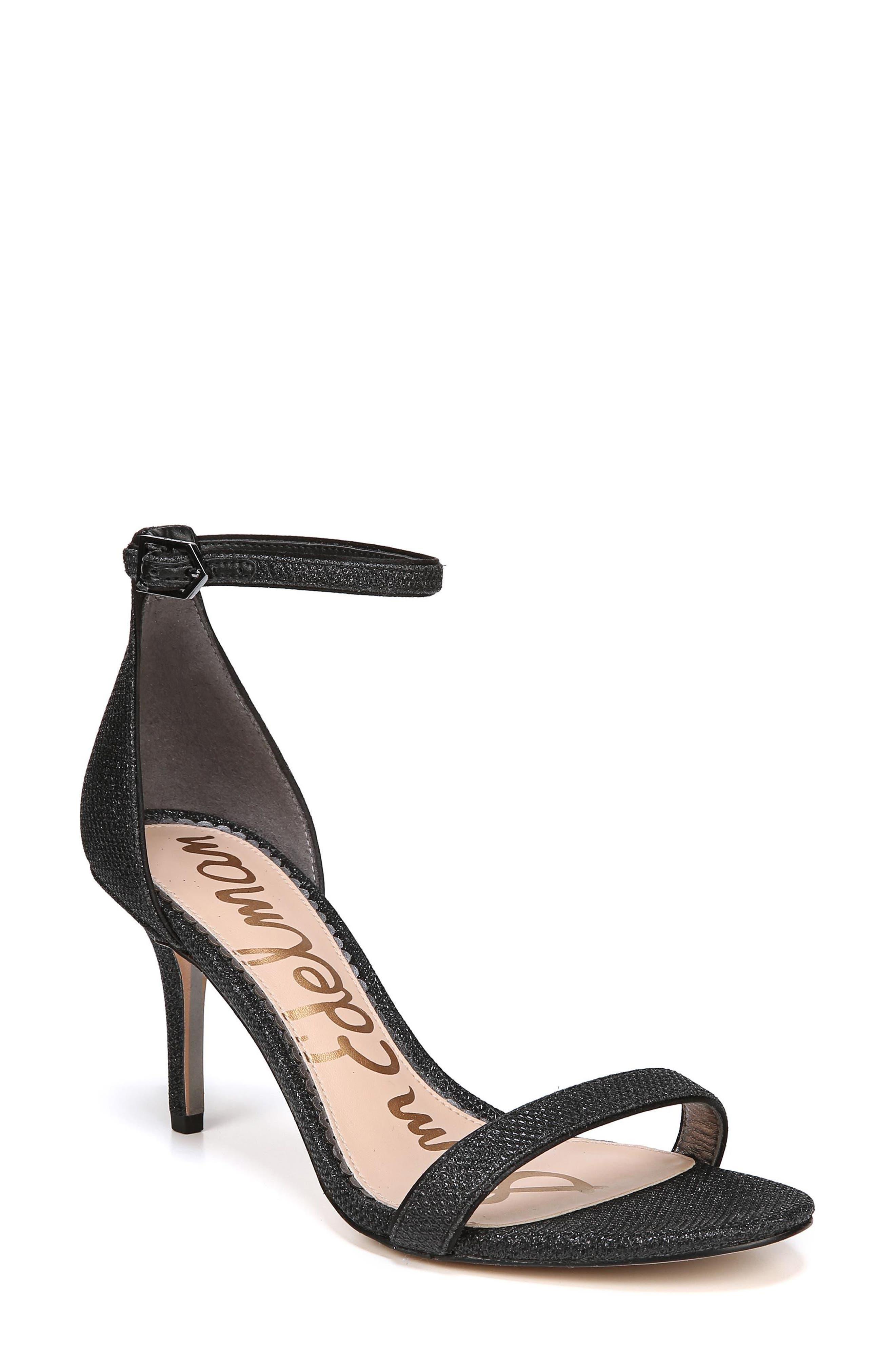 ,                             'Patti' Ankle Strap Sandal,                             Main thumbnail 1, color,                             003