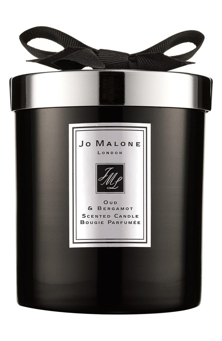 JO MALONE LONDON<SUP>™</SUP> Oud & Bergamot Candle, Main, color, NO COLOR