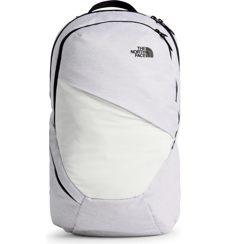 THE NORTH FACE Isabella Backpack, Main, color, TNF WHT MET MELANGE/TNF BLK