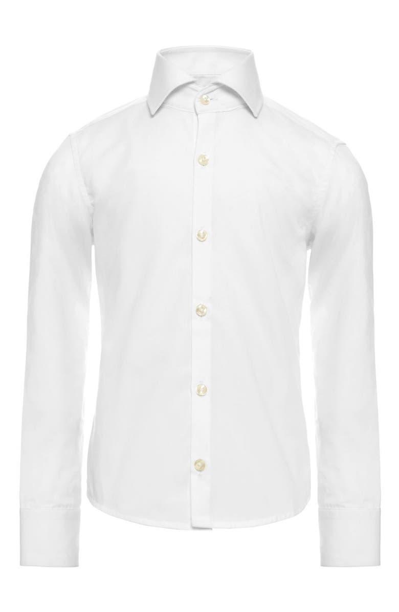 OPPOSUITS White Knight Dress Shirt, Main, color, 101