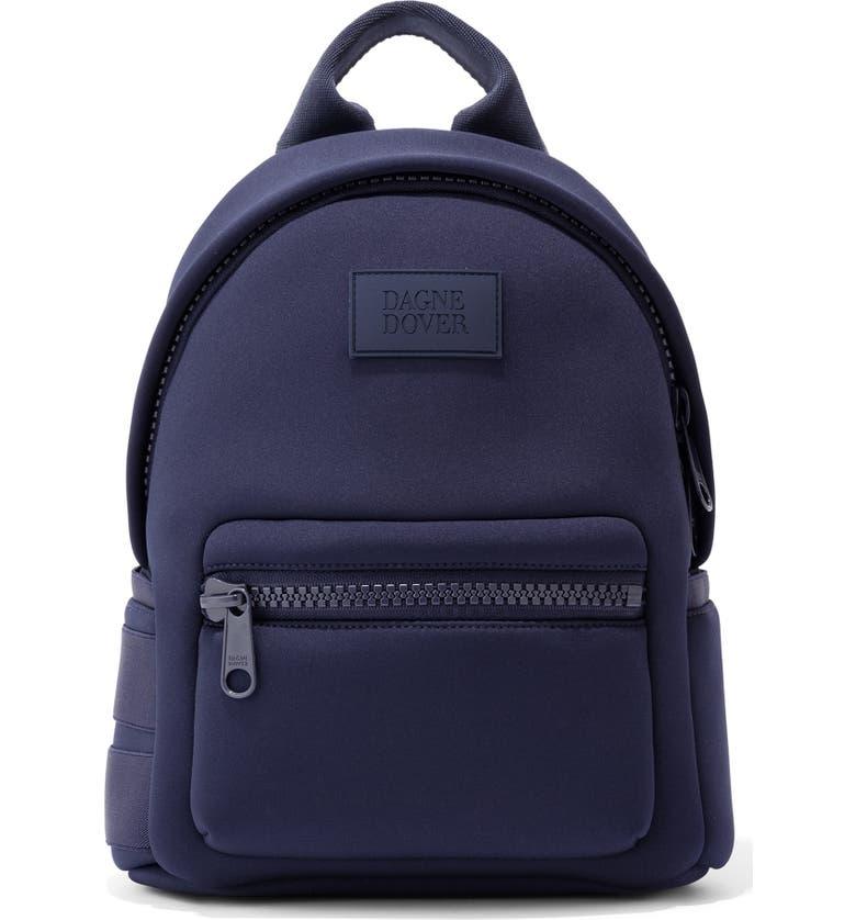 DAGNE DOVER Small Dakota Neoprene Backpack, Main, color, STORM