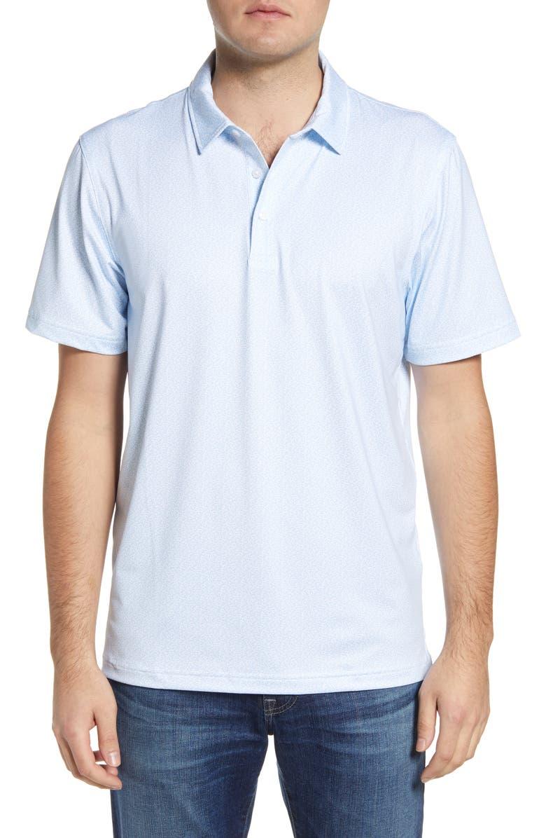 VINEYARD VINES Sankaty Polo Shirt, Main, color, WHITE CAP BLUE