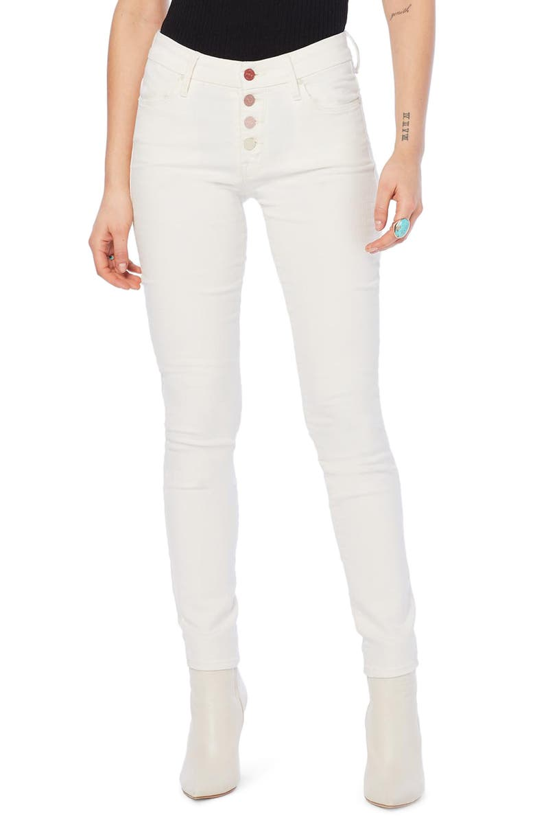 MOTHER The Pixie Skinny Jeans, Main, color, 101