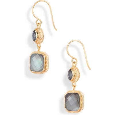 Anna Beck Double Drop Stone Earrings (Nordstrom Exclusive)