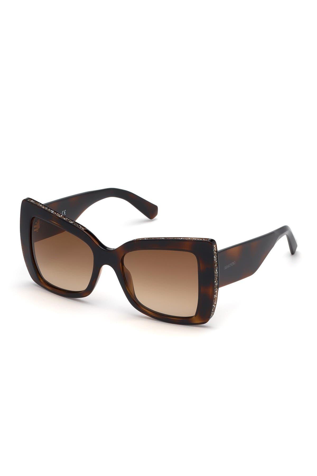 Image of Swarovski Butterfly 52mm Sunglasses