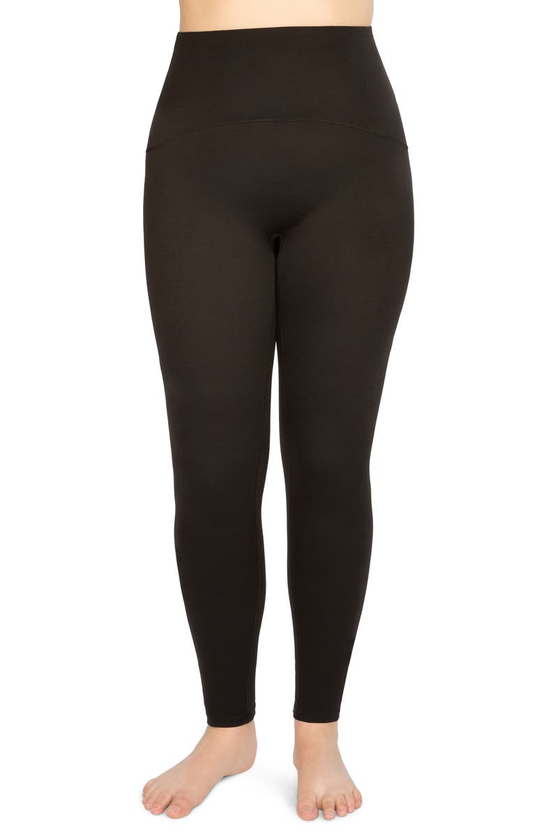 SPANX<SUP>®</SUP> Active Leggings, Main, color, BLACK