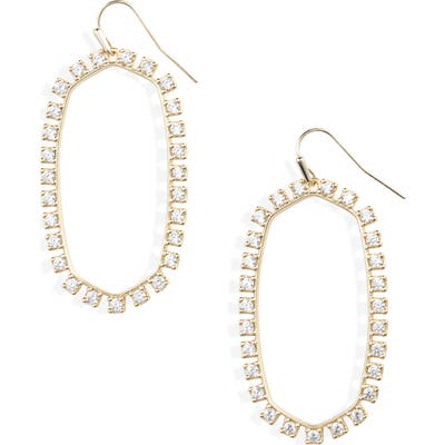 Kendra Scott Danielle Open Frame Drop Earrings
