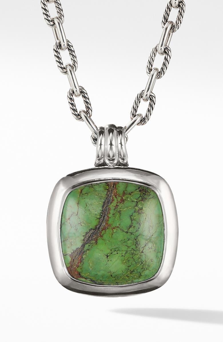 DAVID YURMAN Albion Reconstituted Turquoise Amulet Enhancer, Main, color, 040
