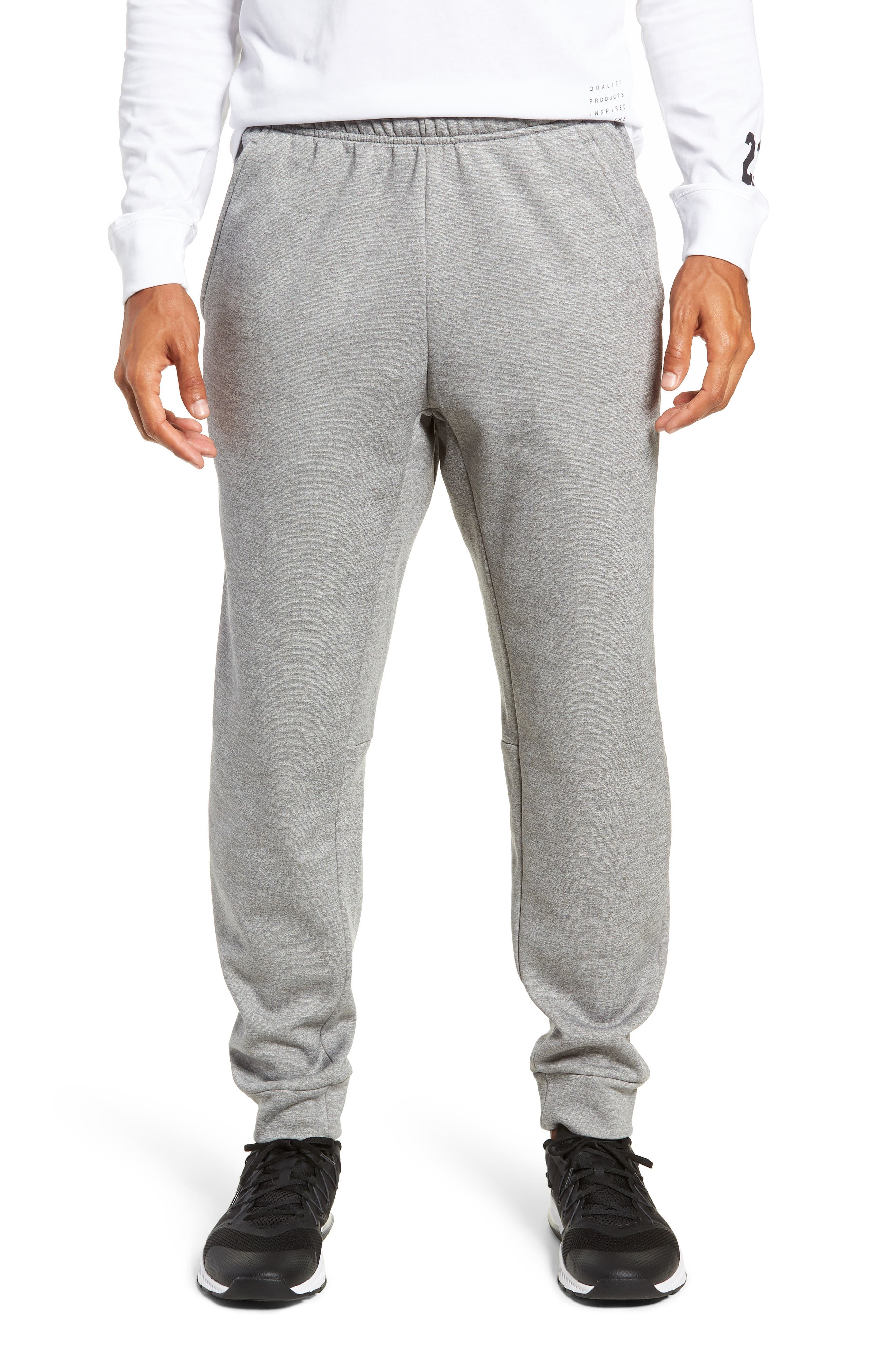 Nike Therma Tapered Pants Grey