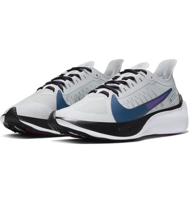 NIKE Zoom Gravity Running Shoe, Main, color, PHOTON DUST/ GREY/ BLACK/ BLUE