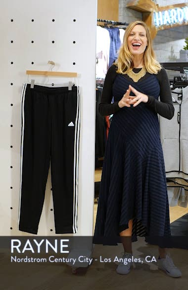 Essentials 3-Stripes Straight Leg Sweatpants, sales video thumbnail