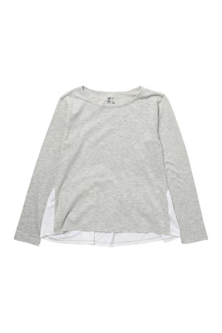 Image of Z by Zella Girl Flow Mesh Long Sleeve Shirt