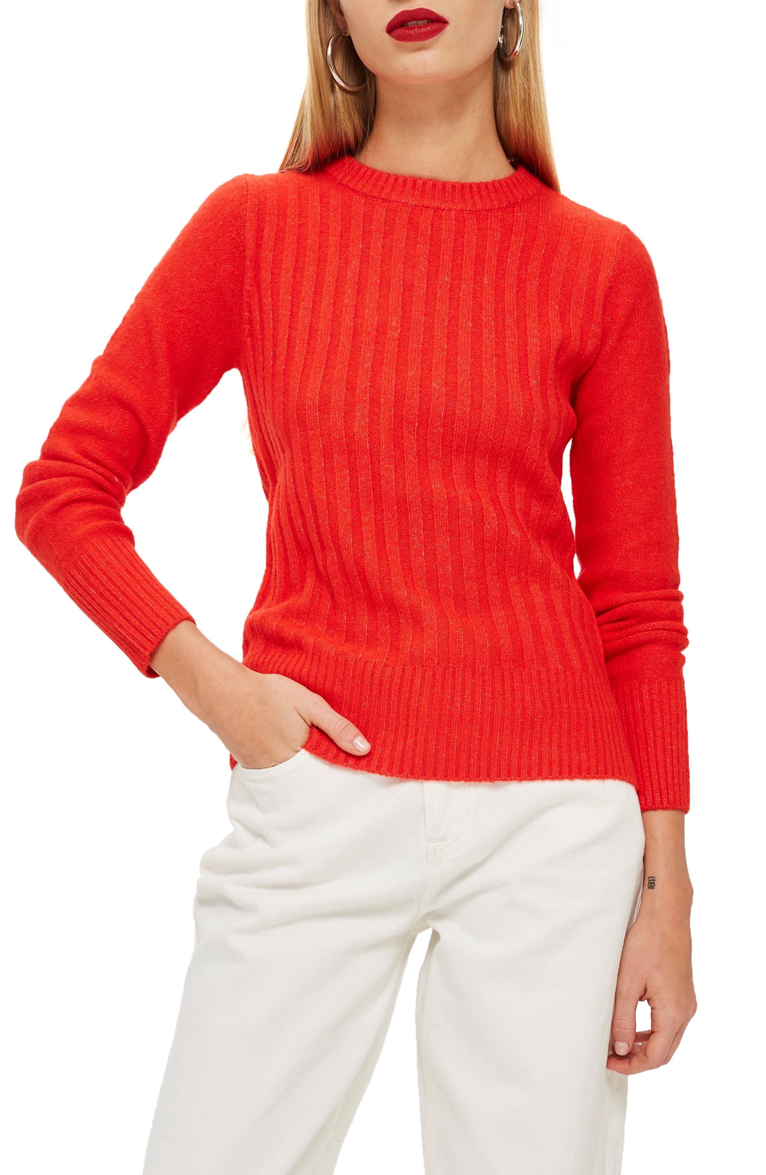 ,                             Rib Sweater,                             Main thumbnail 13, color,                             600