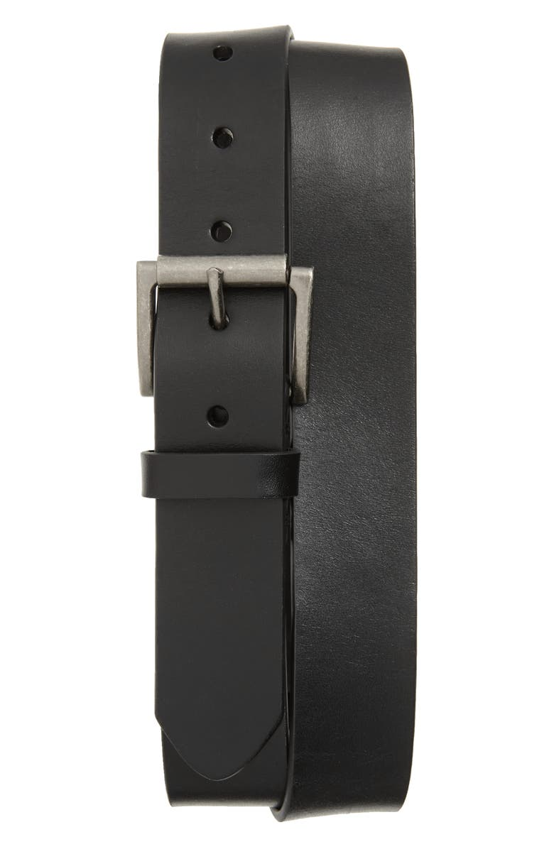 1901 Sven Roller Buckle Belt, Main, color, BLACK
