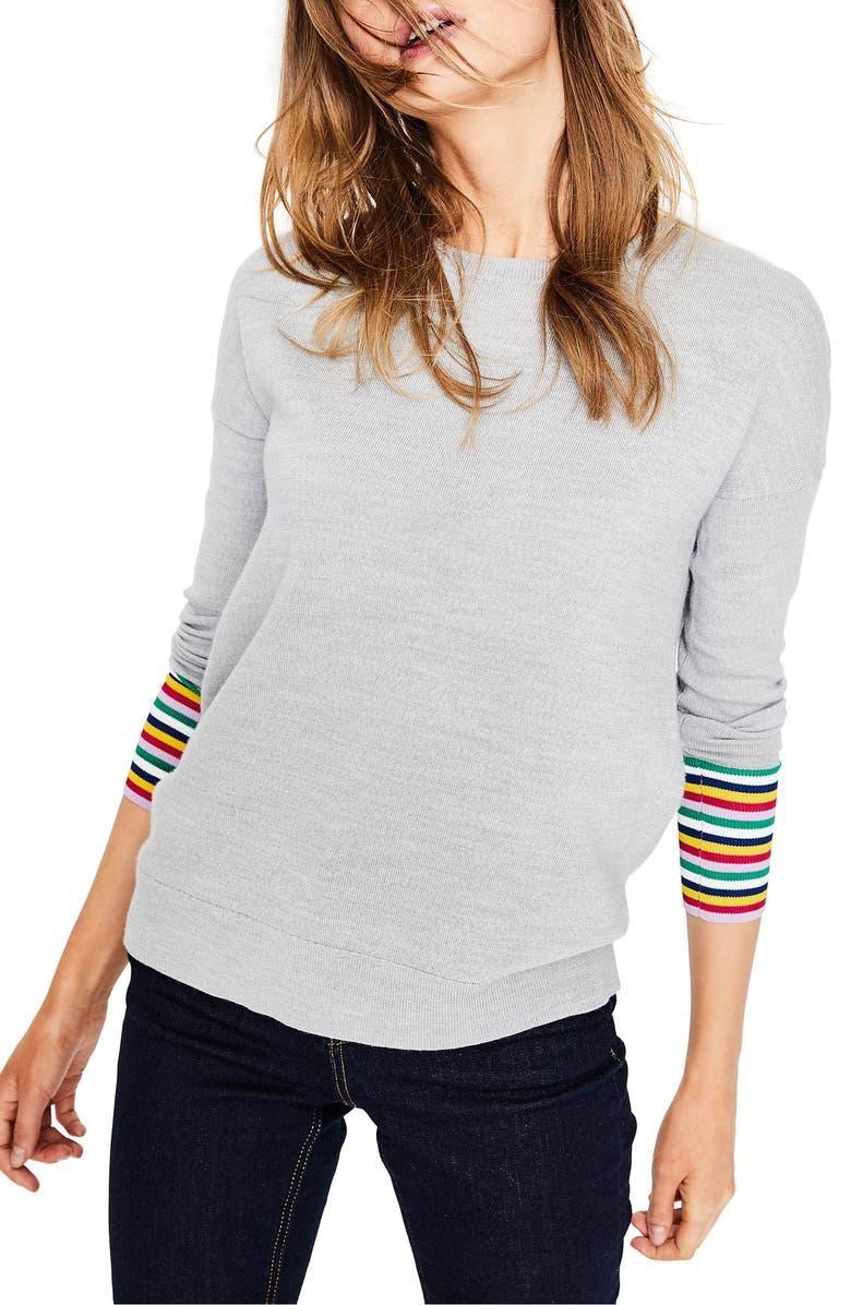 BODEN Cassandra Sweater, Main, color, 062