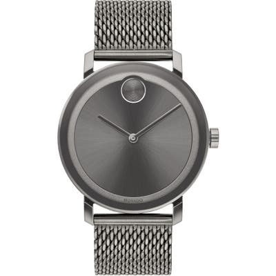 Movado Bold Evolution Mesh Bracelet Watch, 40mm
