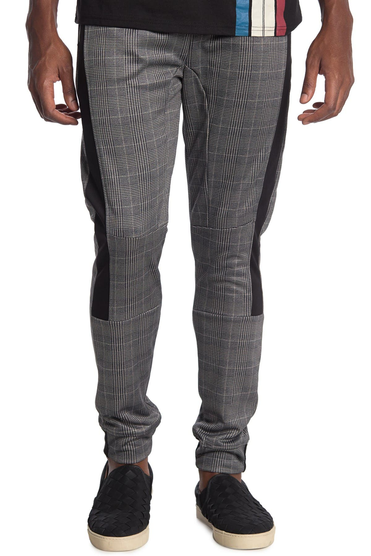 Image of Burnside Plaid Drawstring Pants