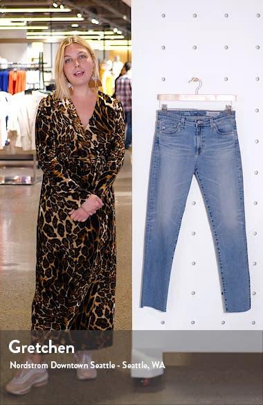 Mari High Waist Ankle Slim Straight Leg Jeans, sales video thumbnail
