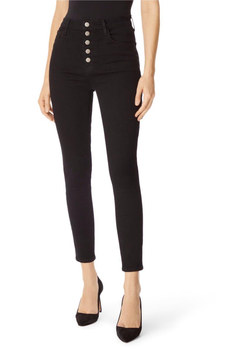 J BRAND Lillie High Waist Crop Skinny Jeans, Main, color, 008