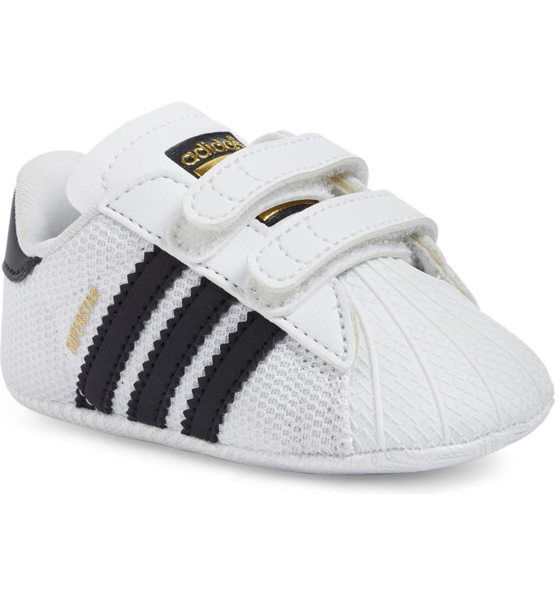 ADIDAS Superstar Sneaker, Main, color, WHITE/ BLACK