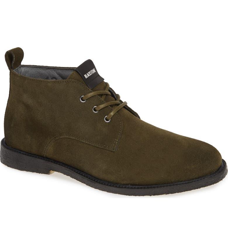 BLACKSTONE QM82 Chukka Boot, Main, color, DARK GREEN
