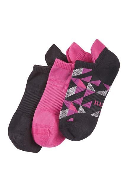 Image of HUE Air Sleek Tab Back Cushioned Sock Liner - Pack of 3