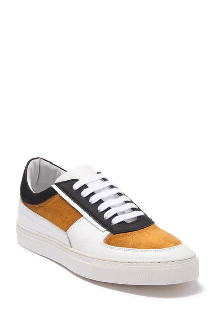 Image of Kenneth Cole New York Orson Low Top Leather & Suede Sneaker