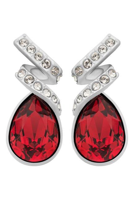 Image of Swarovski Laureen Stud Crystal Stud Earrings