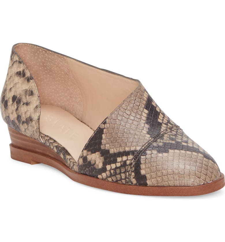 1.STATE Cacie Wedge, Main, color, ROCCIA PRINTED MICRO SUEDE