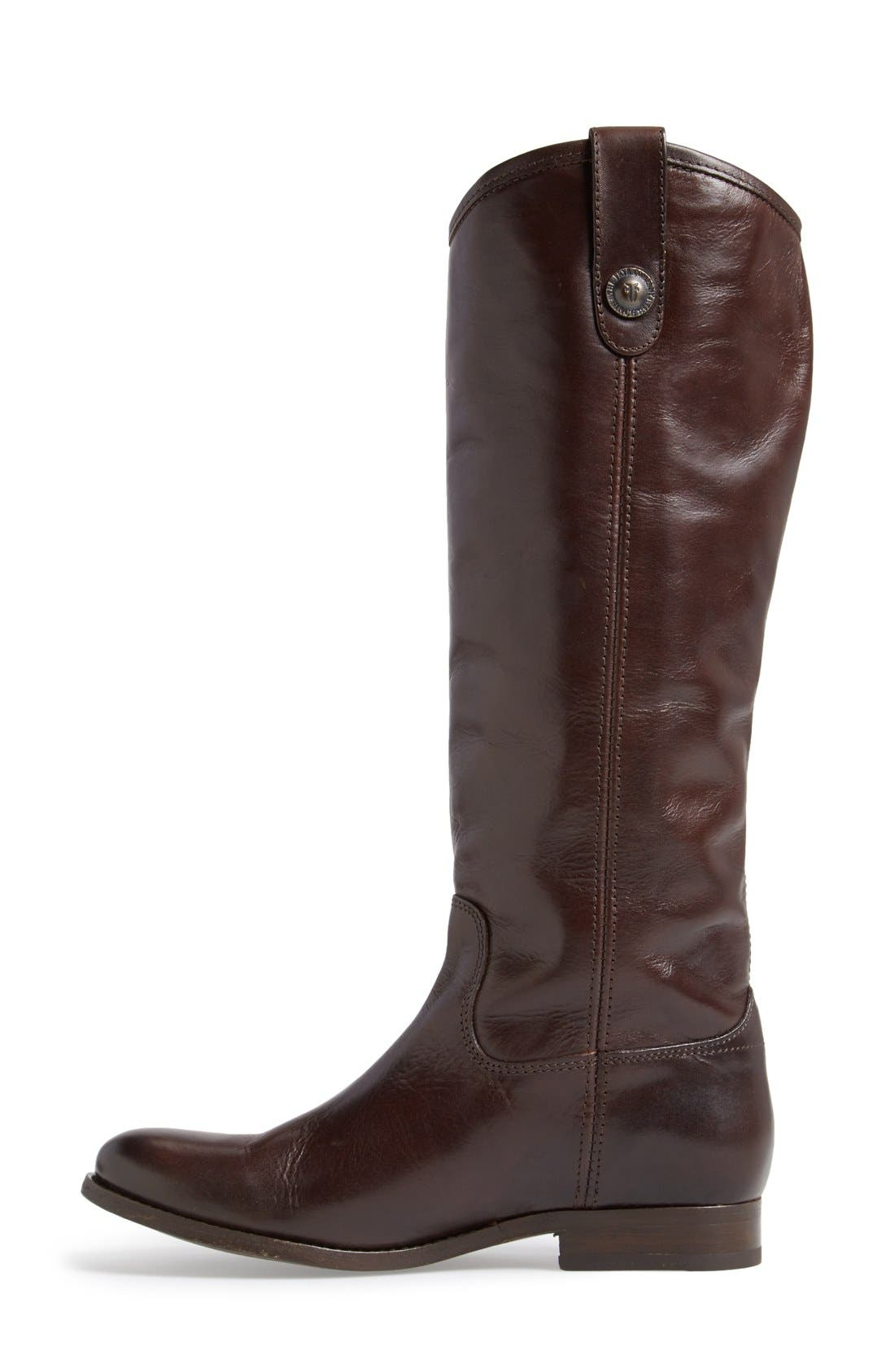 ,                             'Melissa Button' Leather Riding Boot,                             Alternate thumbnail 95, color,                             220