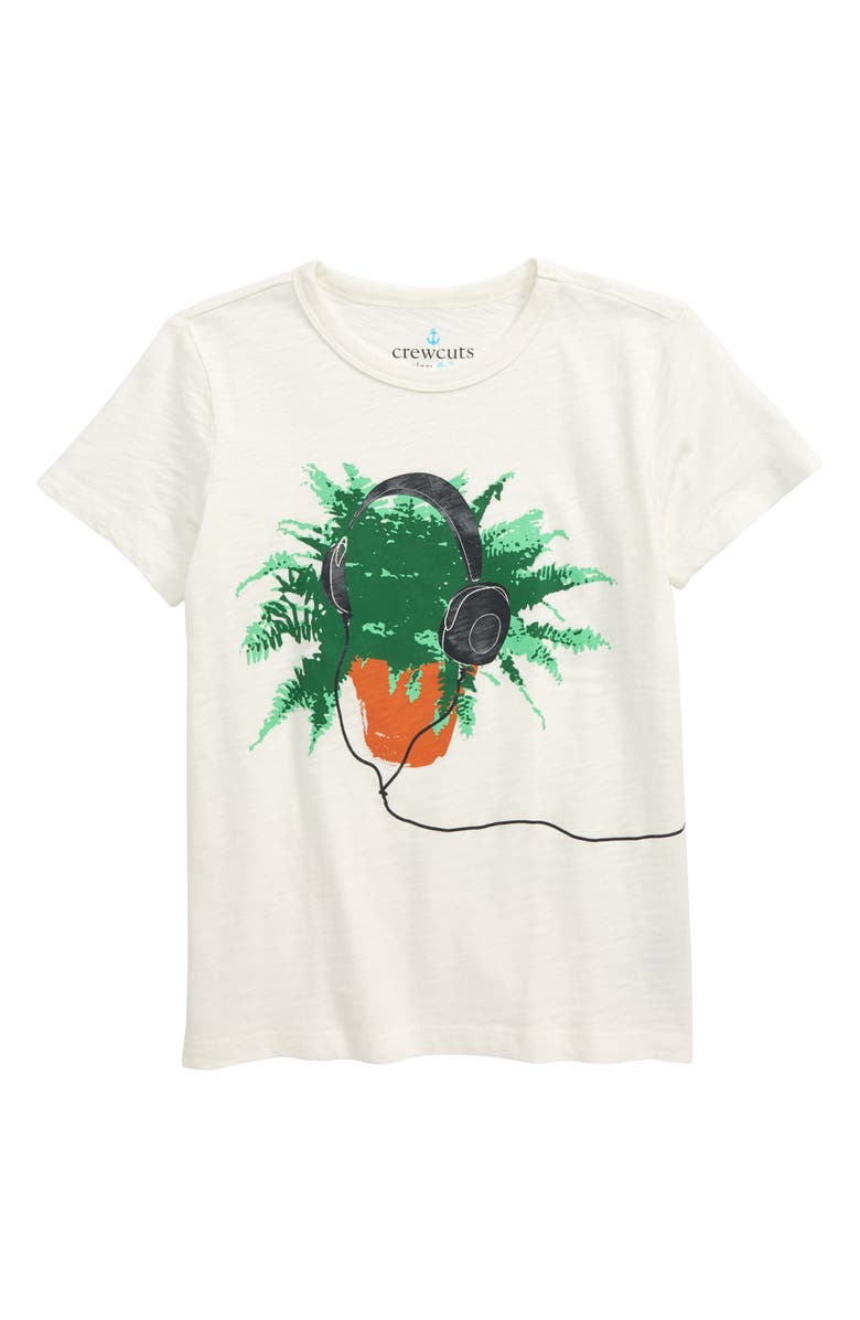 CREWCUTS BY J.CREW Music for Plants T-Shirt, Main, color, 900