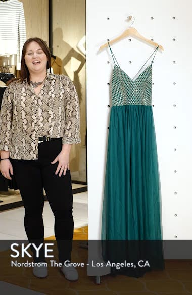 Embellished Bodice Gown, sales video thumbnail