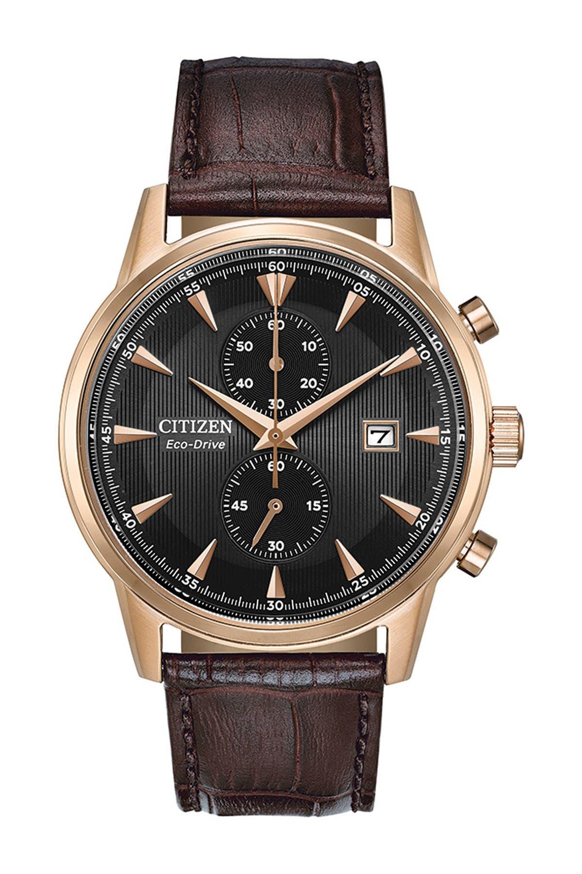 Image of Citizen Men's Corso Eco-Drive Chronograph Watch, 43mm