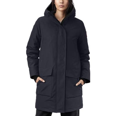 Canada Goose Canmore 625 Fill Power Down Parka, (8-10) - Blue