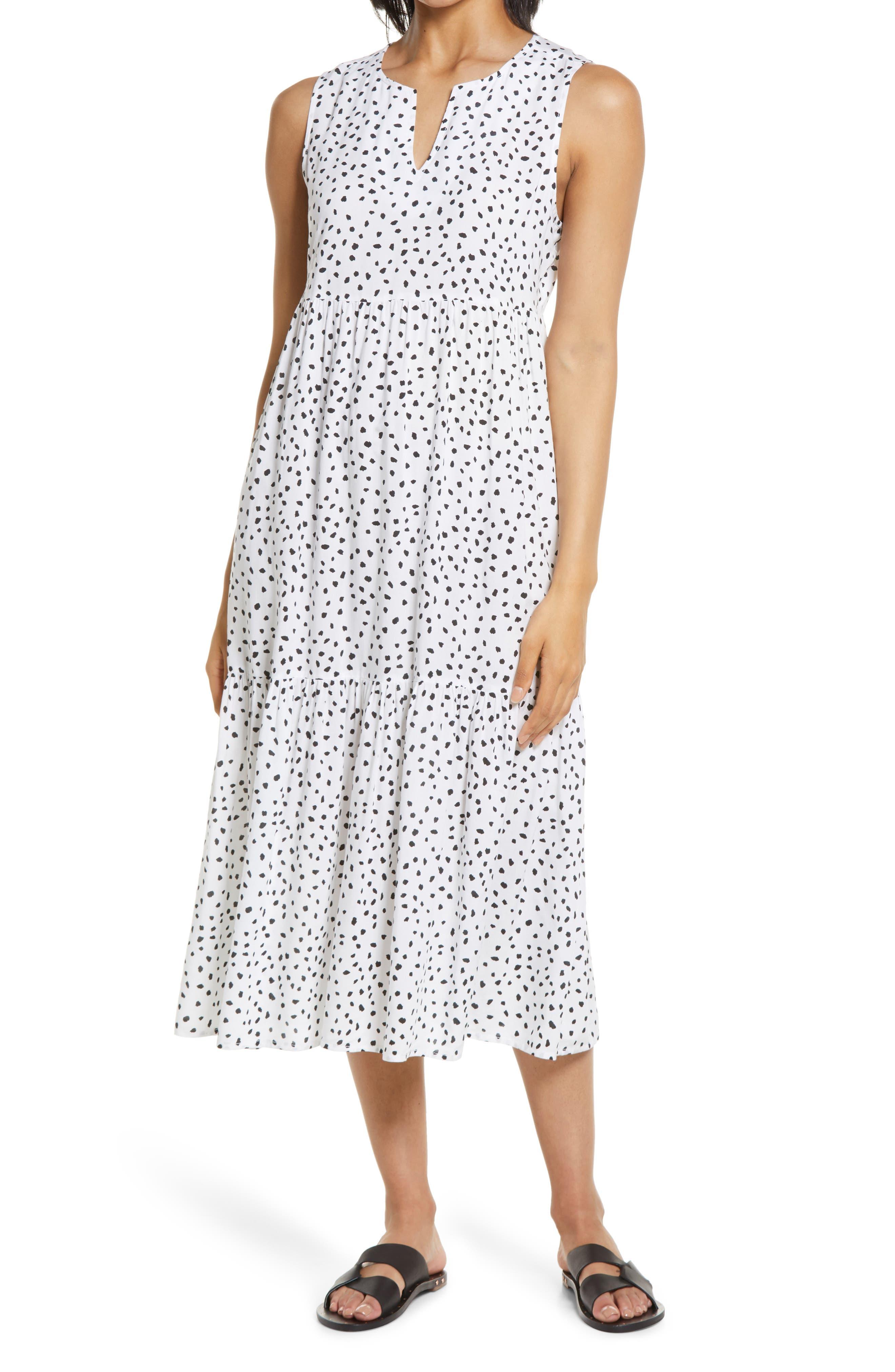 Ireana Tiered Ruffle Midi Dress