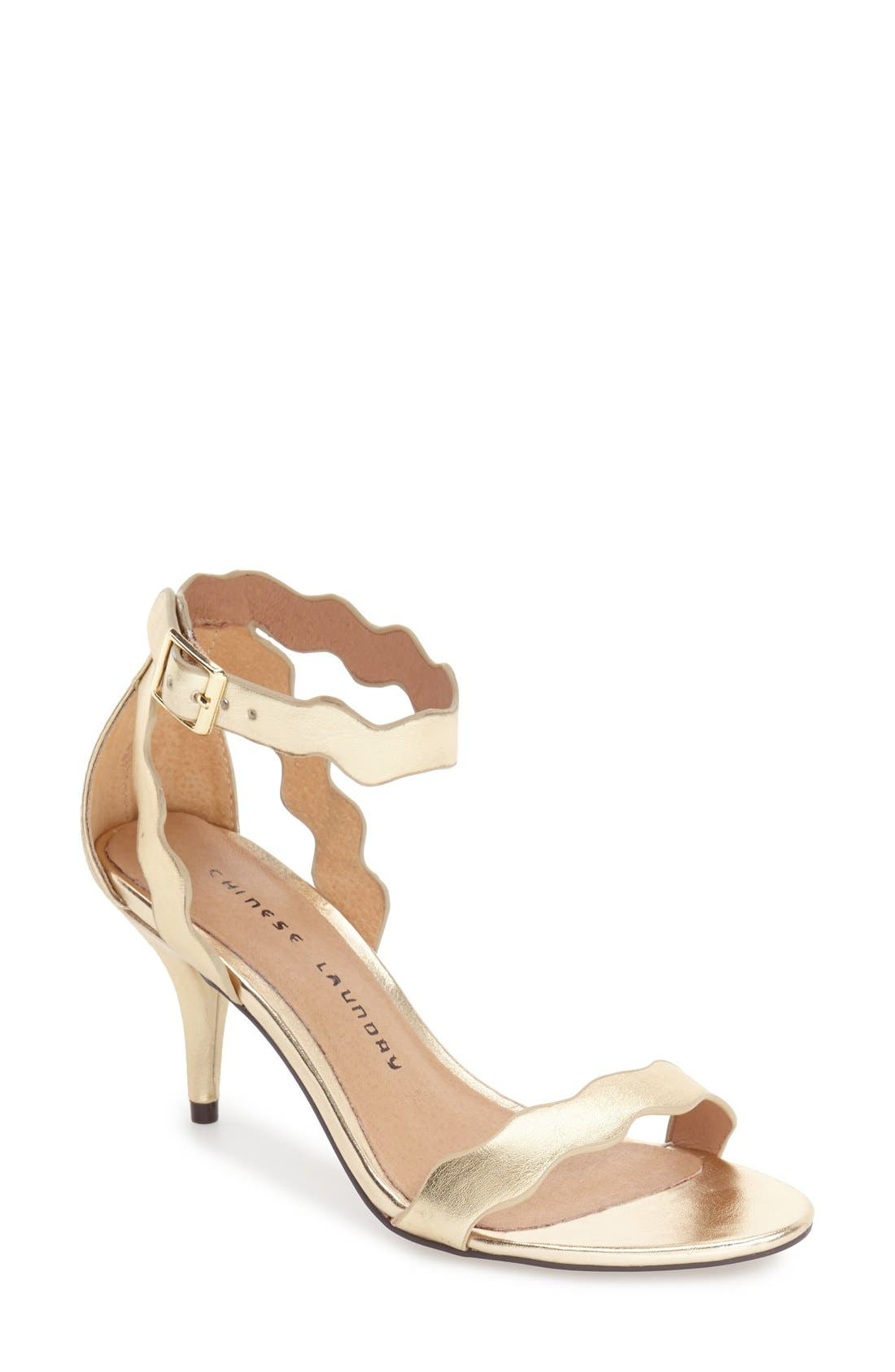 ,                             'Rubie' Scalloped Ankle Strap Sandal,                             Main thumbnail 15, color,                             710