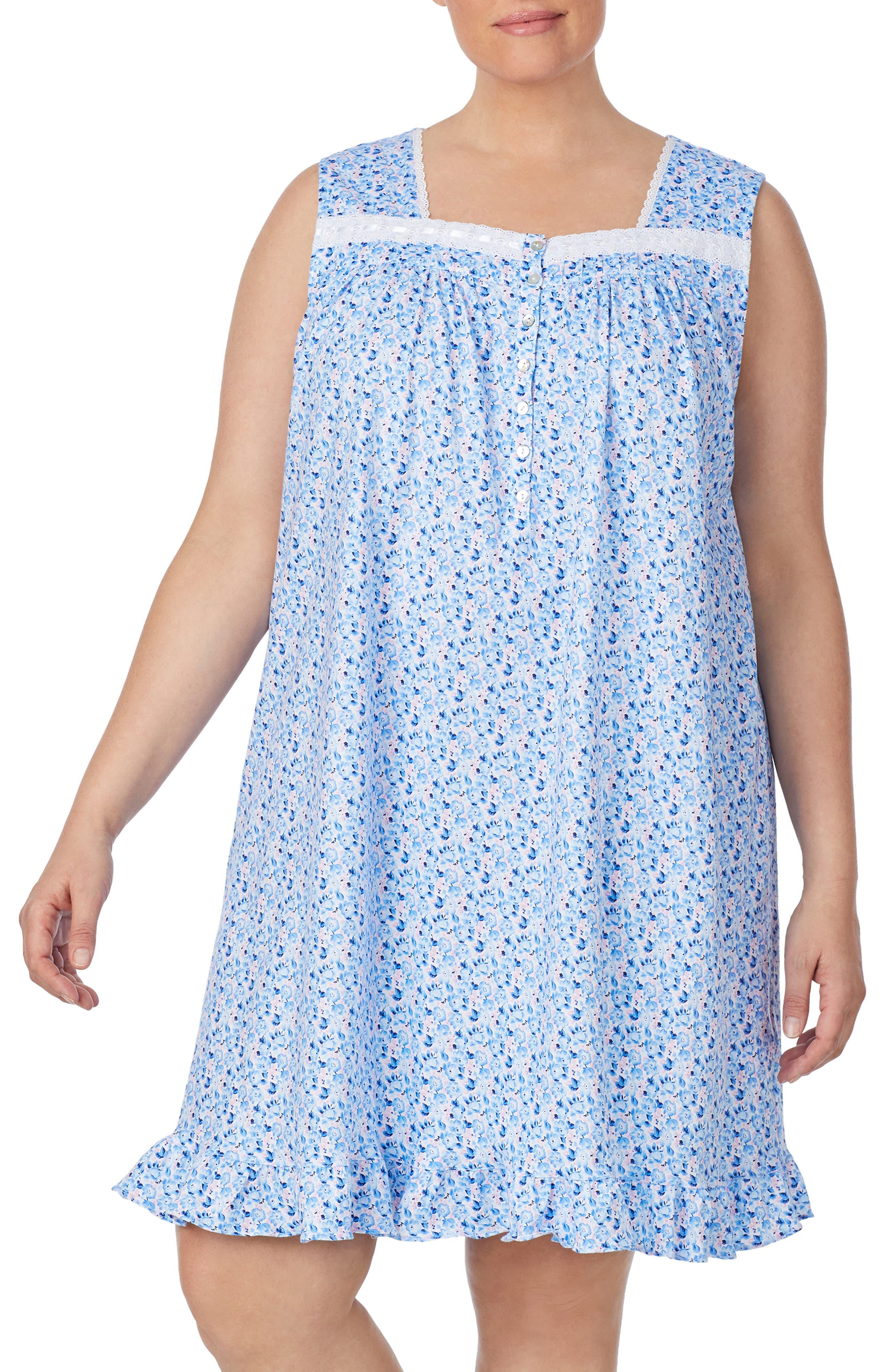 Plus Size Eileen West Short Nightgown