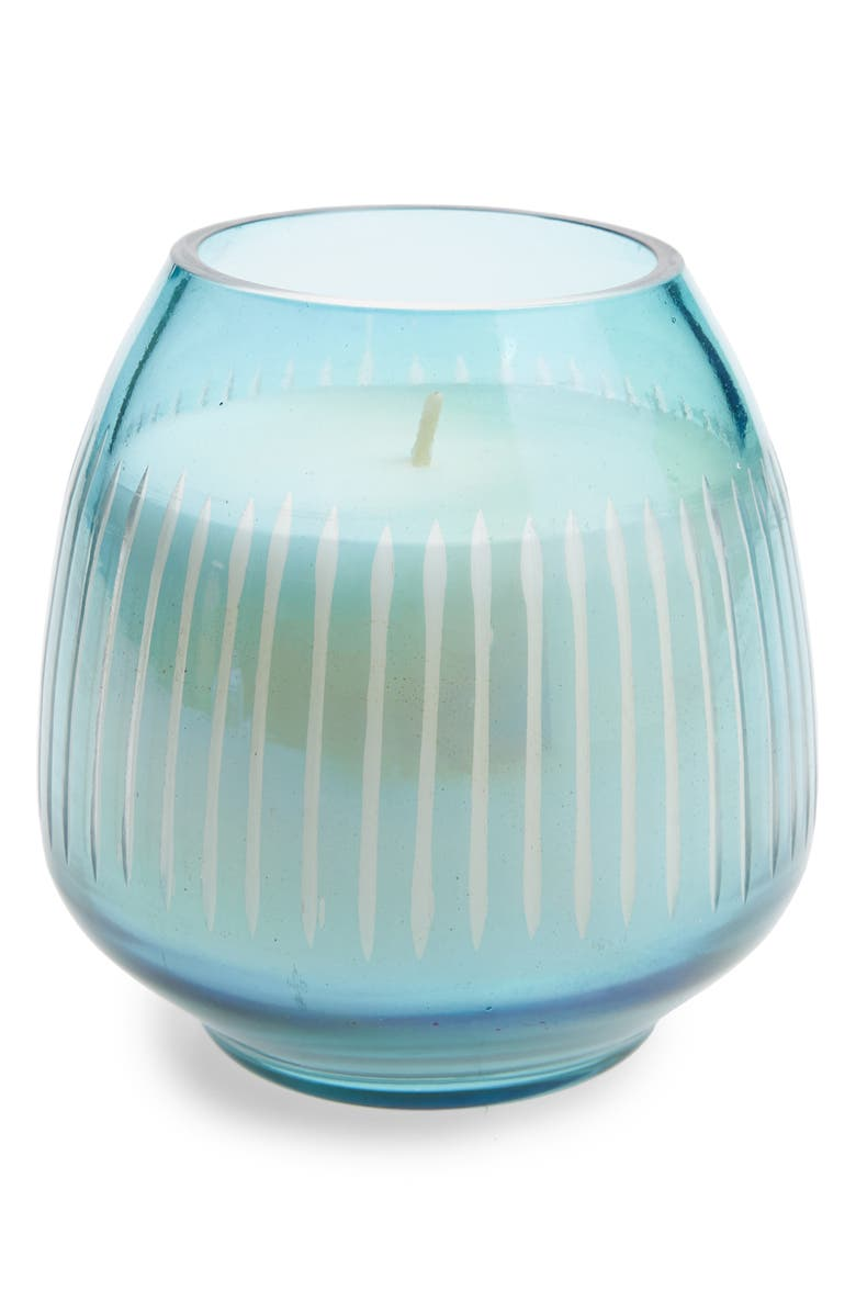 ANTHROPOLOGIE HOME Small Amber Luster Candle, Main, color, SCARLETT CITRUS