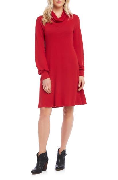 Karen Kane Dresses TURTLENECK SWEATER DRESS