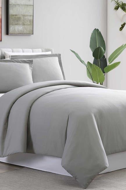 Image of Modern Threads King/California King  Ultra Plush Duvet Set - Gray