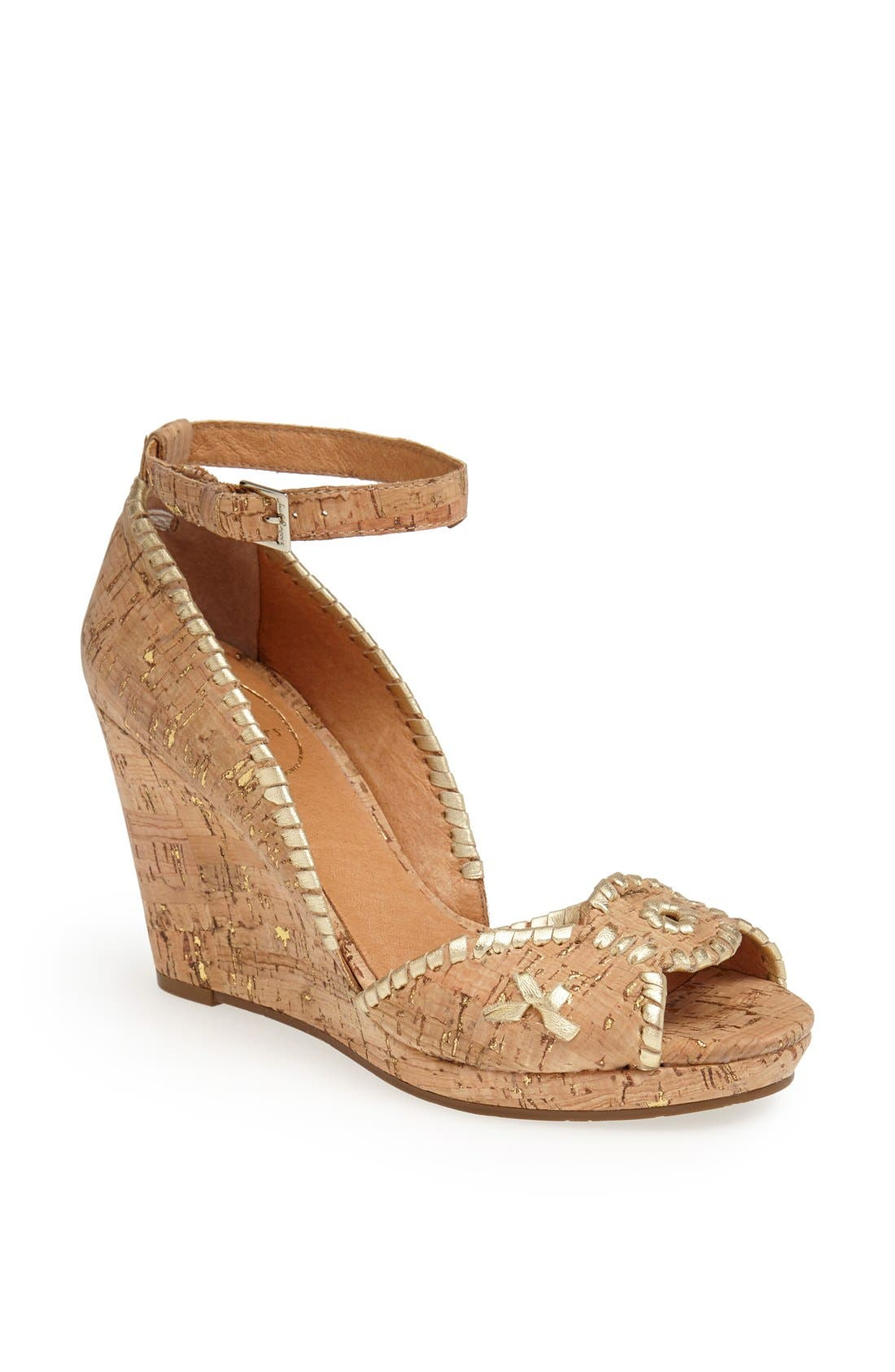 ,                             'Chrystie' Wedge Sandal,                             Main thumbnail 5, color,                             251