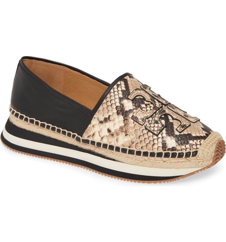 TORY BURCH Daisy Stripe Sneaker, Main, color, DESERT ROCCIA