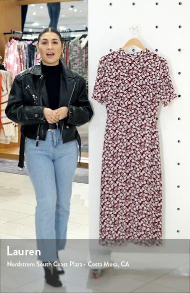 Gio Ditsy Floral Midi Dress, sales video thumbnail