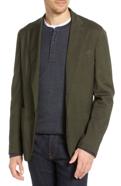 Image of 1901 Extra Trim Fit Garment Dyed Wool Sport Coat