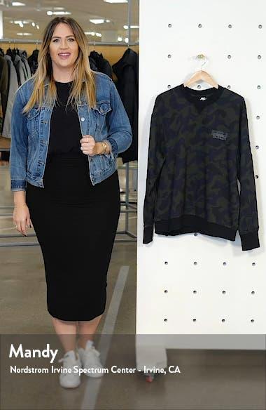 Sportswear Camo Crewneck Sweatshirt, sales video thumbnail
