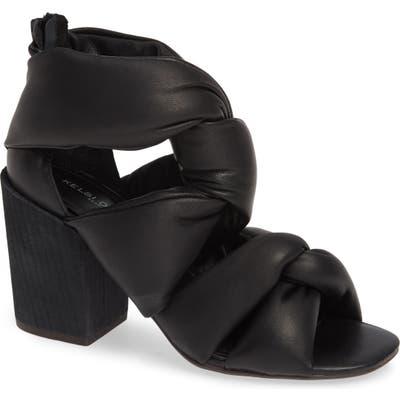 Kelsi Dagger Brooklyn Maddox Knotted Strap Sandal, Black