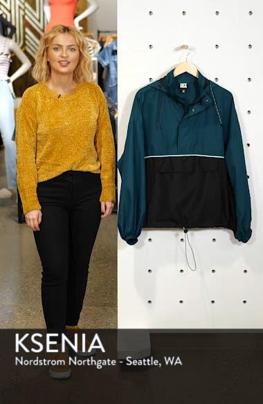 Colorblock Half Zip Pullover, sales video thumbnail